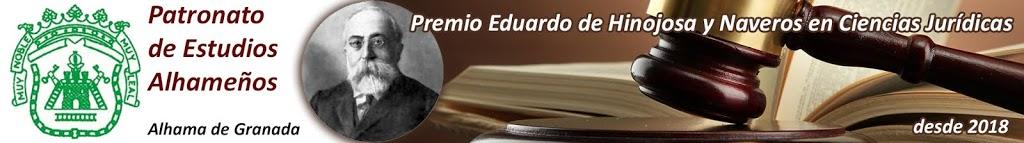 Presentación II Edición del Premio Eduardo de Hinojosa y Naveros en Ciencias Jurídicas