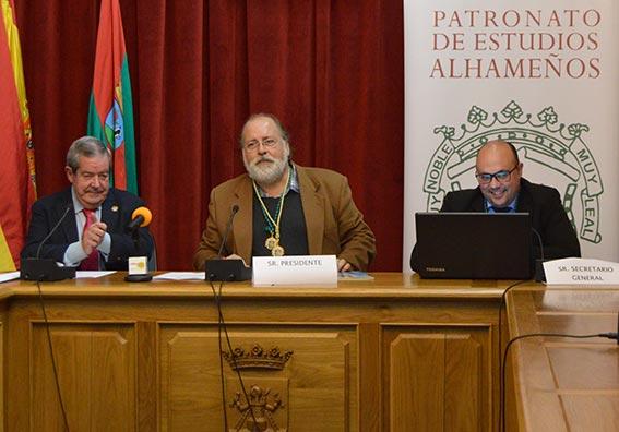 Ignacio Benítez elegido nuevo presidente del Patronato de Estudios Alhameños